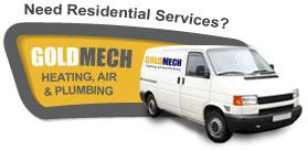 Residential Services Van | GoldMech